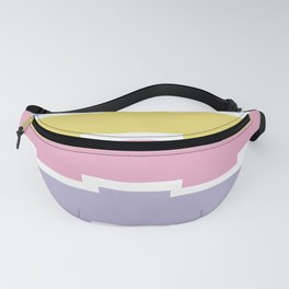 Colorful Stripes Pattern Fanny Pack