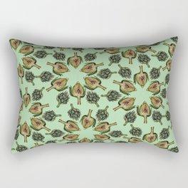 Swirling Artichokes Rectangular Pillow
