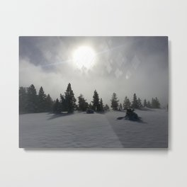 Winter Mystic Metal Print
