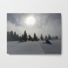 Winter Mystic Metal Print