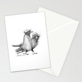 Attempted Murder Pun Stationery Cards