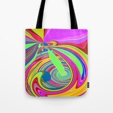 Re-Created  Sour Candy 8 by Robert S. Lee Tote Bag