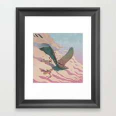 The ancient eagle Framed Art Print