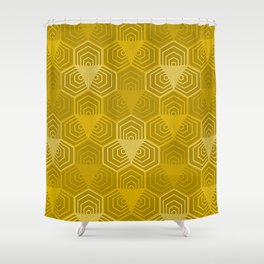 Op Art 43 Shower Curtain