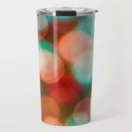 Abstract holiday background Travel Mug