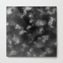 Black Heart in the Clouds Metal Print