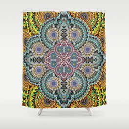 Mind Healing Mandala Shower Curtain