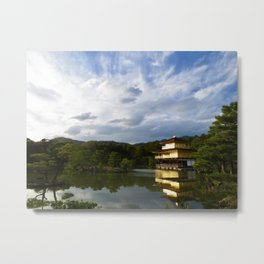 Beauty around Kinkaku-ji Metal Print