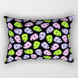 Masks I Rectangular Pillow