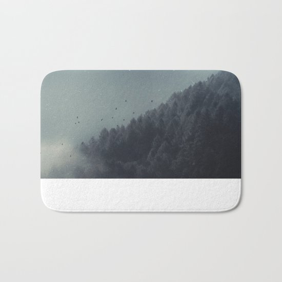 ashen forest Bath Mat