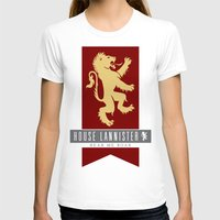 lannister T-shirts featuring House Lannister Sigil by P3RF3KT