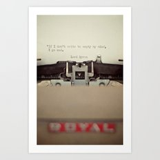 If. Art Print
