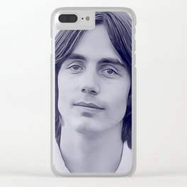 Jackson Browne, Music Legend Clear iPhone Case