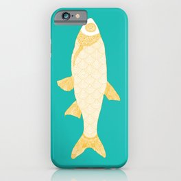 The Golden Fish iPhone Case