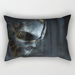 Corvo´s Mask  Dishonored Rectangular Pillow