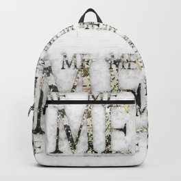it's all about ME Backpack