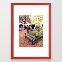 Seat Framed Art Print