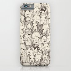 just alpacas natural iPhone 6s Slim Case
