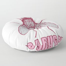 Cute Fly For A Bug White Guy Floor Pillow