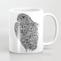 hawk Mugs featuring Hawk by kayse wieneke