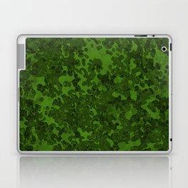 Leaf Green Hybrid Camo Pattern Laptop & iPad Skin