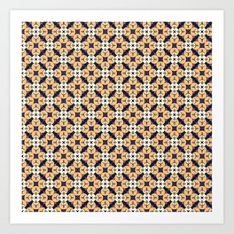 buda pattern Art Print