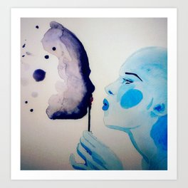Blow me up, blow me away - Baby, just blow me! Art Print