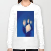 ice Long Sleeve T-shirts featuring ice by  Agostino Lo Coco