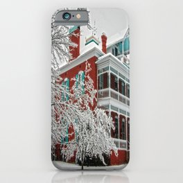 Green Roof Inn iPhone Case