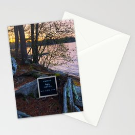 Lake Pemaquid Camping 2019 Stationery Cards