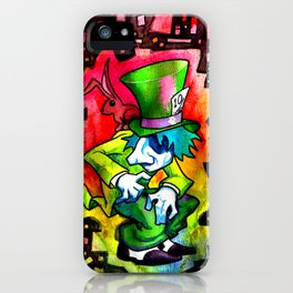 The Mad Hatter and the March Hare iPhone Case