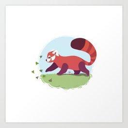 Red Panda cub Art Print
