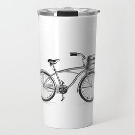 Beach Bicycle Travel Mug