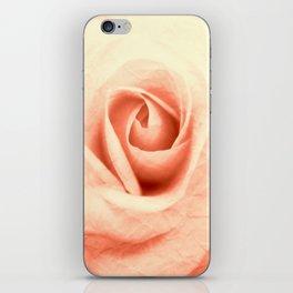 Pink Crinkle iPhone Skin