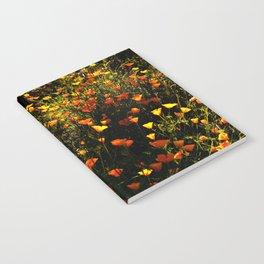 Beautiful garden flowers Notebook