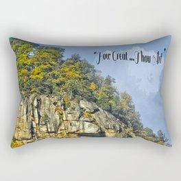 How Great Thou Art... Rectangular Pillow