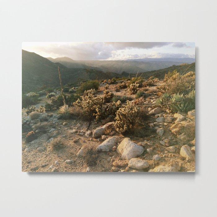 Borrego Desert Sunset Metal Print