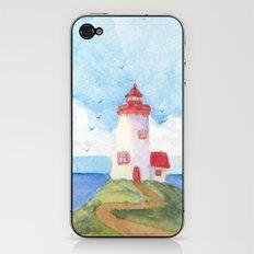 Peaceful Lighthouse iPhone & iPod Skin