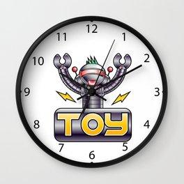 eletric robot toy Wall Clock