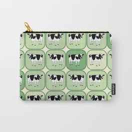 Tiled cows pattern Carry-All Pouch