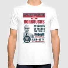 Borroughs Event MEDIUM Mens Fitted Tee White