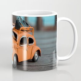 Little Cars, Big Planet (70's) Coffee Mug