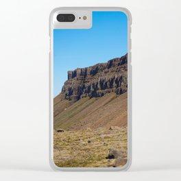 Volcanic Landscape at Djupavik, Iceland Clear iPhone Case