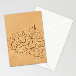 Dry Brain Stationery Cards