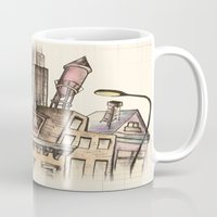 architect Mugs featuring To Be An Architect by Andrew Preble