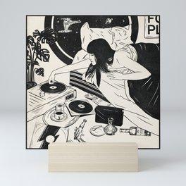 Books About UFOs Mini Art Print