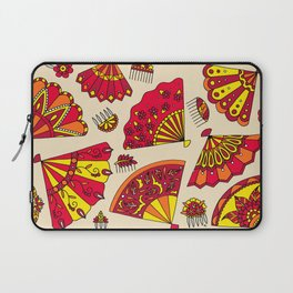 Colorful Fans Red Laptop Sleeve