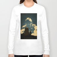 bane Long Sleeve T-shirts featuring Bane  by Edmond Lim