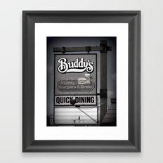 Buddy's Framed Art Print