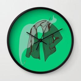 Smokey vintage denim -By Mantle Wall Clock